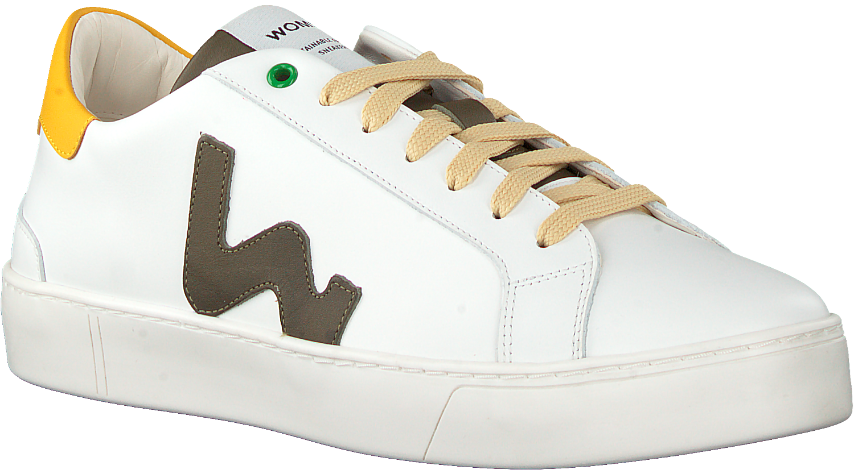 Witte WOMSH Lage sneakers SNIK | Omoda
