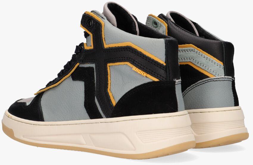Blauwe BRONX Hoge sneaker OLD COSMO  - larger