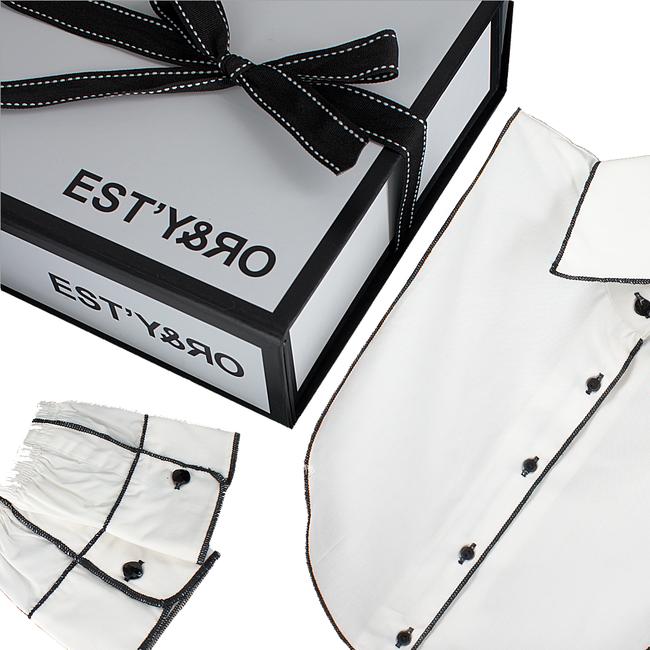 Witte EST'Y&RO Kraagje EST'88 - large