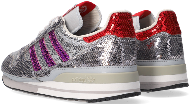 Grijze ADIDAS Lage sneakers ZX 500 W  - large