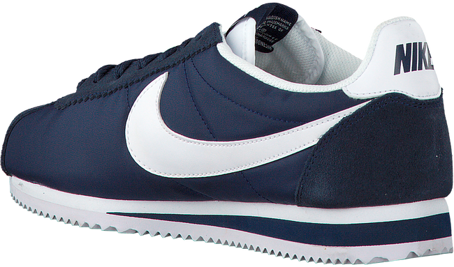 Blauwe NIKE Sneakers CLASSIC CORTEZ NYLON MEN  - large