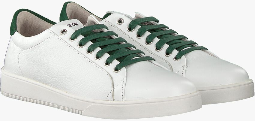 Witte BLACKSTONE Lage sneakers RM31  - larger