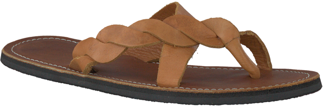 Cognac OMODA KUBUNI Slippers SLIPPER BRAID  - large