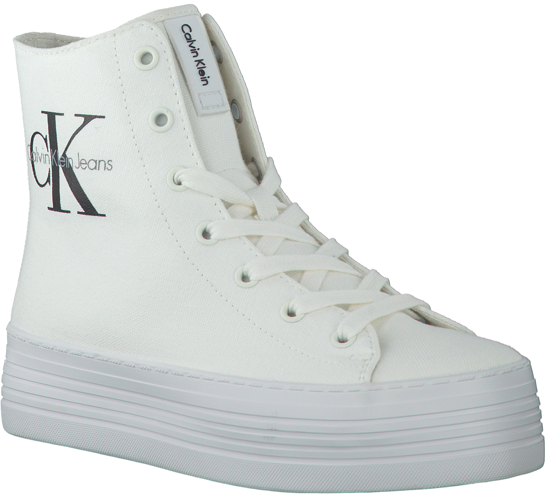 Witte CALVIN KLEIN Sneakers ZABRINA CANVAS | Omoda