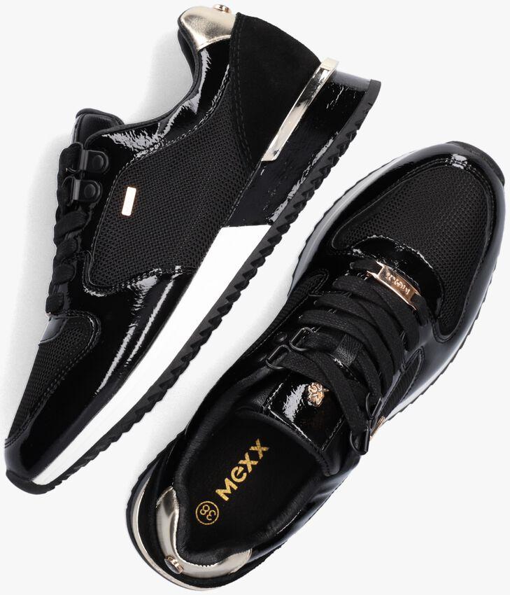 Zwarte MEXX Lage sneakers FLEUR  - larger