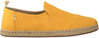 Gele TOMS Espadrilles DECONSTRUCTED ALPARGATA ROPE  - medium