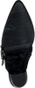 Zwarte BRONX Enkellaarsjes BAMERICANAX  - small