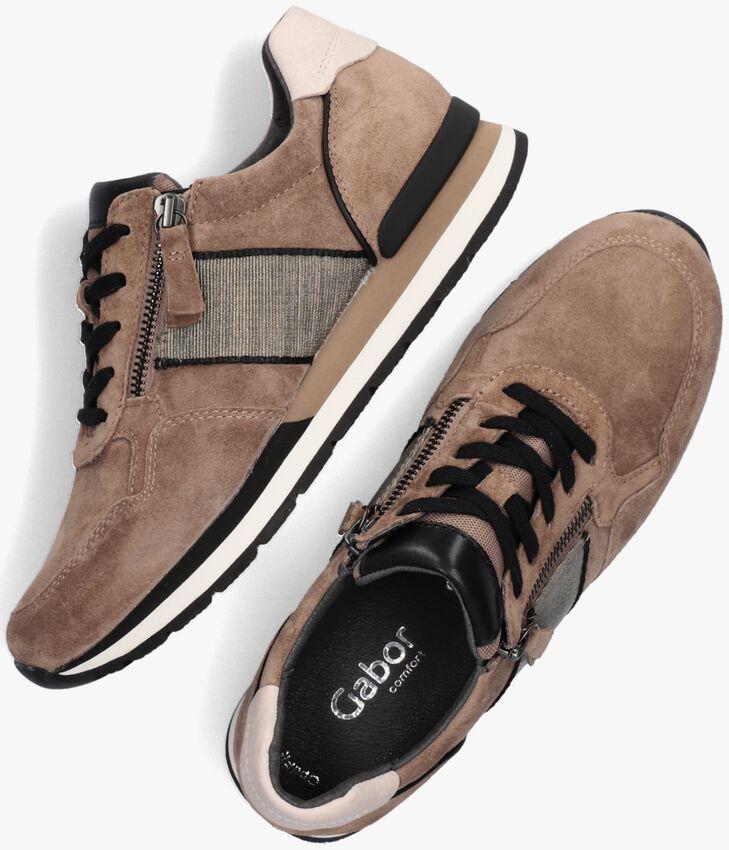 Beige GABOR Lage sneakers 364  - larger