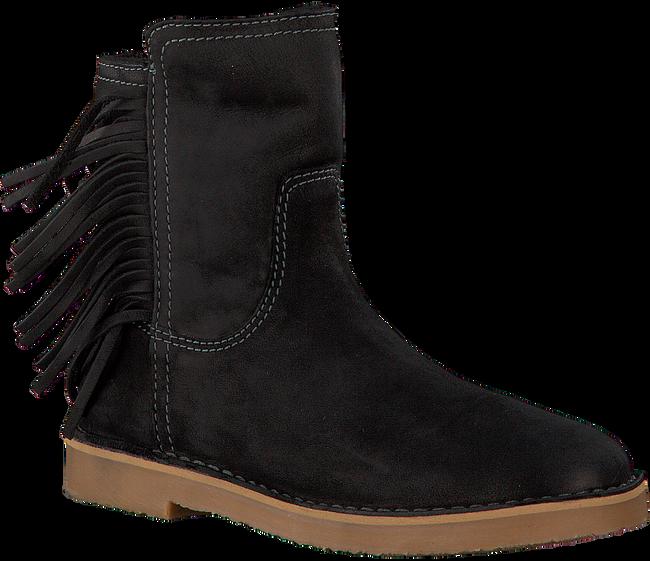 Zwarte GIGA Lange laarzen 8671  - large