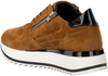 Cognac RED-RAG Sneakers 76658  - small
