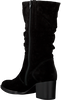 Zwarte GABOR Enkellaarsjes 894  - small