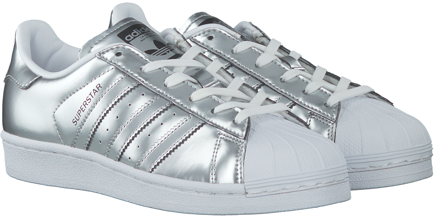 Zilveren ADIDAS Sneakers SUPERSTAR DAMES | Omoda