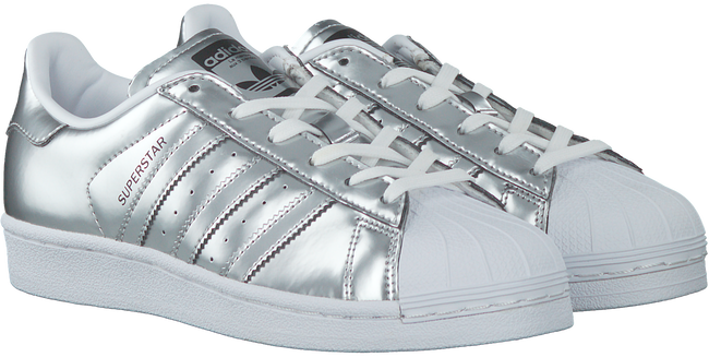 Zilveren ADIDAS Sneakers SUPERSTAR DAMES  - large