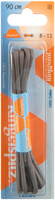 Grijze RINGPOINT  Veters VETER ROND 90 CM  - medium