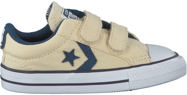 Witte CONVERSE Sneakers STAR PLAYER 2V OX KIDS  - large