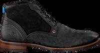 Zwarte REHAB Nette schoenen LENNON KRIS KROS  - medium