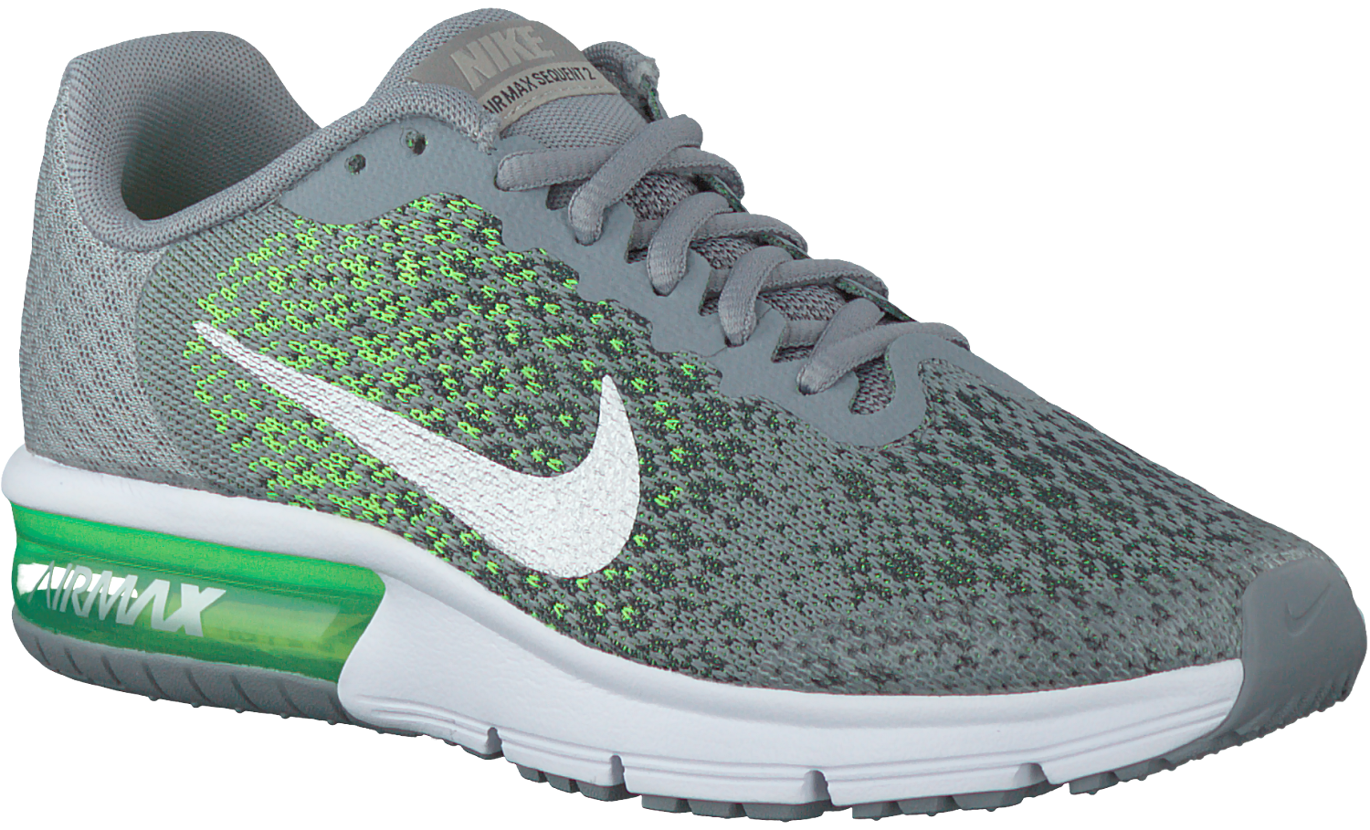 Grijze NIKE Sneakers AIR MAX SEQUENT 2 KIDS
