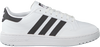 Witte ADIDAS Lage sneakers TEAM COURT J  - small