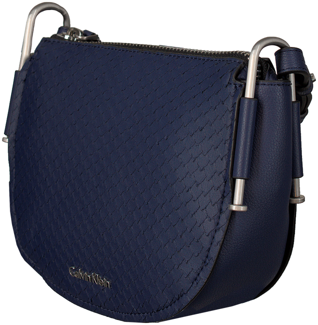 Blauwe CALVIN KLEIN Schoudertas ARCH SMALL SADDLE BA - large