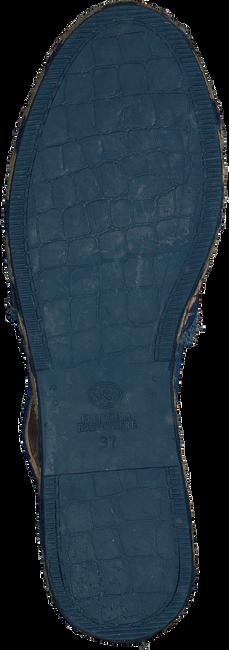 Blauwe FRED DE LA BRETONIERE Sandalen FRS0323 ESPADRILLE SANDAL SUED - large