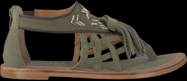 Chaussures Vertes Bronx Pour Femmes 1izax