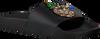 Zwarte THE WHITE BRAND Slippers PINEAPPLE  - small