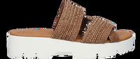 Cognac PAUL GREEN Slippers 7696  - medium