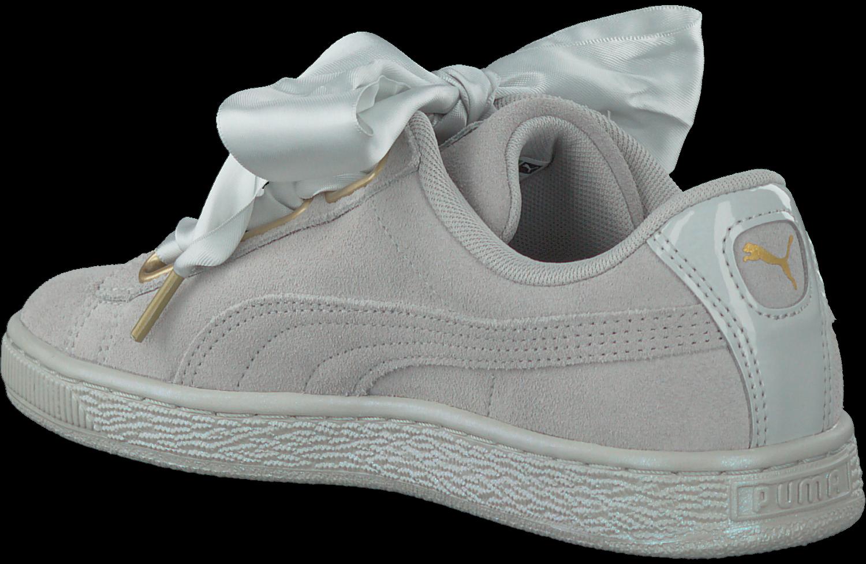 ce793dce30c Grijze PUMA Sneakers SUEDE HEART SATIN. PUMA. -70%. Previous