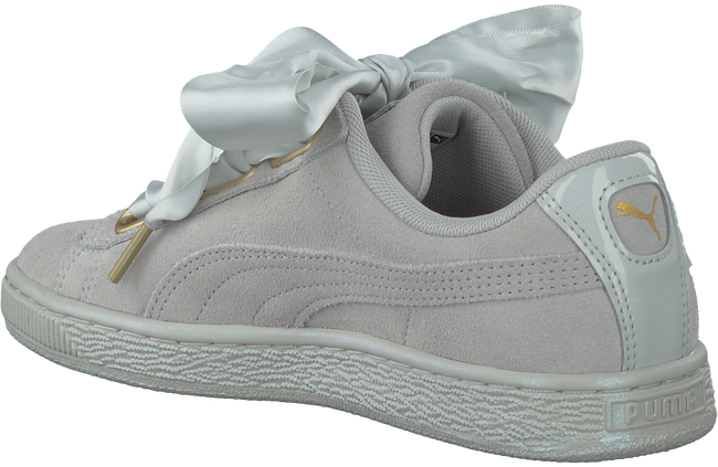 PUMA SNEAKERS SUEDE HEART SATIN - large