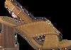 Bruine LOLA CRUZ Sandalen 372Z30BK  - small
