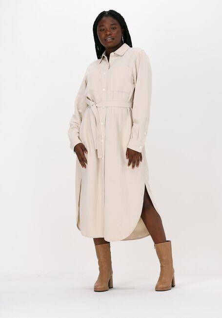 Gebroken wit VANILIA Mini jurk TWILL SHIRT DR 1114 - large