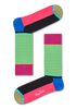 Blauwe HAPPY SOCKS Sokken HALF STRIPE  - small