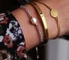 Gouden MY JEWELLERY Armband ARMBAND BEDEL LA VITA E BELLA  - small