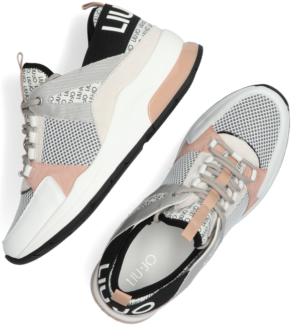 Witte LIU JO Lage sneakers KARLIE 55  - large