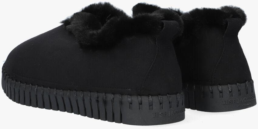 Zwarte ILSE JACOBSEN Pantoffels TULIP3050  - larger