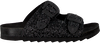 Zwarte THE WHITE BRAND Slippers BIO BUCKLE  - small