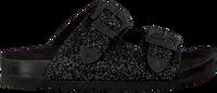 Zwarte THE WHITE BRAND Slippers BIO BUCKLE  - medium