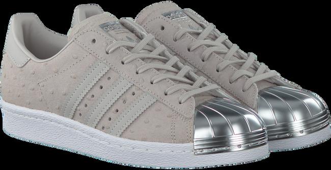 Grijze ADIDAS Sneakers SUPERSTAR 80S DAMES  - large