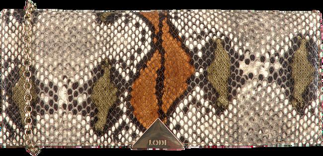 Bruine LODI Clutch SAINT - large