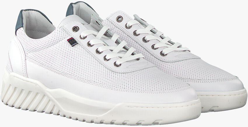 Witte CYCLEUR DE LUXE Lage sneakers URBINO  - larger