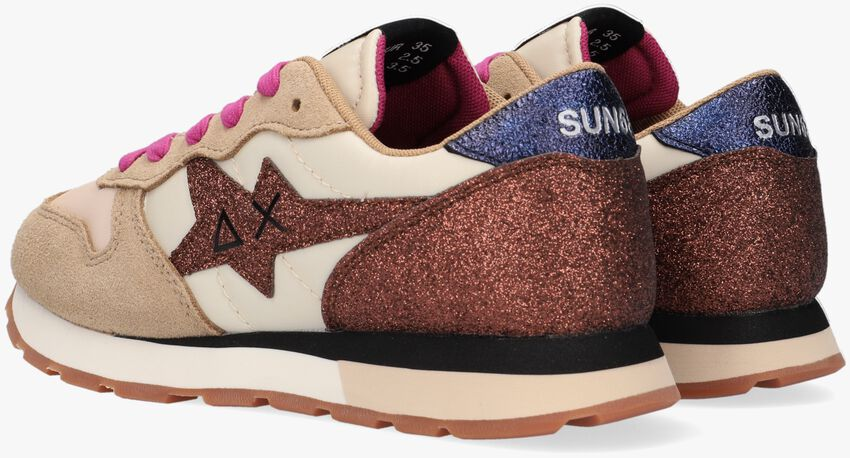 Beige SUN68 Lage sneakers GIRLS STARGIRL GLITTER  - larger