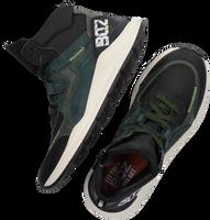 Groene BRAQEEZ Hoge sneaker RAVI RIO  - medium