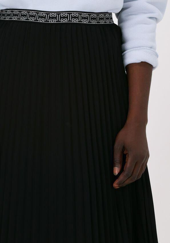 Zwarte LEVETE ROOM Plissé rok FABIANNA 4 - larger