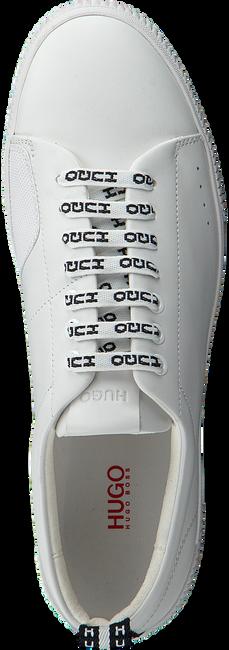 Witte HUGO Sneakers ZERO TENN NARB  - large