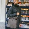 Grijze LAAUW Laptoptas LAPTOP NINE STREETS  - small