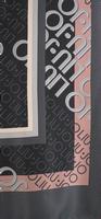 Zwarte LIU JO Sjaal LOGO FOULARD  - medium