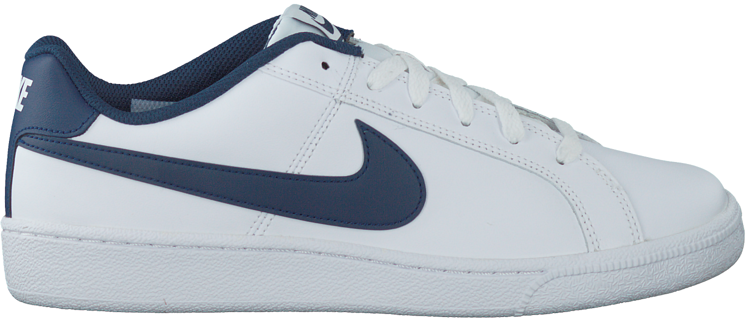 8fa6d83b7bd Witte NIKE Sneakers COURT ROYALE SUEDE MEN - large. Next