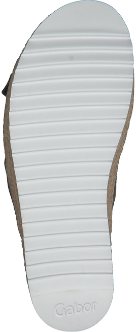 Groene GABOR Slippers 729 - large
