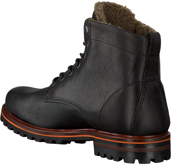 Zwarte BRUNOTTI Veterboots PACIANO MID FUR  - large