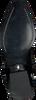 Zwarte OMODAXMANON Enkellaarsjes ABB2869  - small